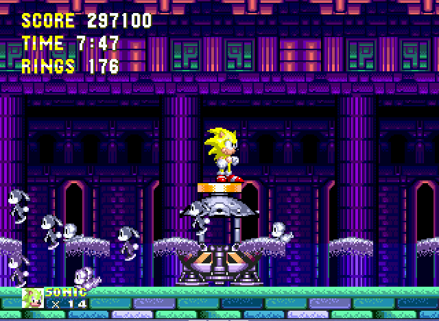 Sonic the Hedgehog 3 - i am still super sonic  - User Screenshot